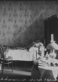 LNTI 3.46 La chambre où est mort L.N. Tolstoï à Astapovo