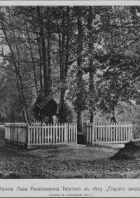 LNTI 3.47 La tombe de Léon Nikolaevitch Tolstoï dans la forêt Stary zakaz