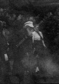 LNTI 4.07 L.N. Tolstoï avec sa fille Aleksandra en promenade