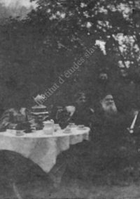 LNTI 4.25 L.N. Tolstoï jouant aux échecs avec Taneïev