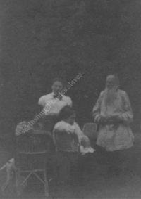LNTI 4.44 L.N. Tolstoï et sa fille Aleksandra