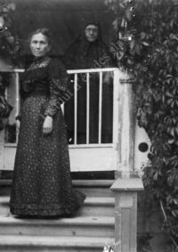 LNTI 5.12 Maria Nikolaevna Tolstoï et sa fille Varvara Nagornov