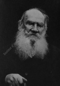 LNTI 5.18 Portrait de L.N. Tolstoï
