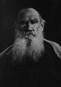LNTI 5.19 L.N. Tolstoï en promenade au bord de l'étang