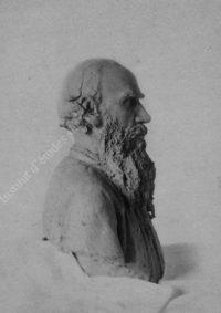 LNTI 6.05 Buste de L.N. Tolstoï par Troubetskoï