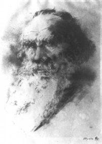 LNTI 6.17 Portrait de L.N. Tolstoï par sa fille A.L. Tolstoï