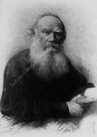 LNTI 6.19 Portrait de L.N. Tolstoï par M.V. Roundaltsov