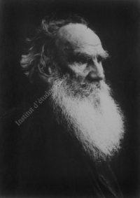 LNTI 6.31 Portrait de L.N. Tolstoï